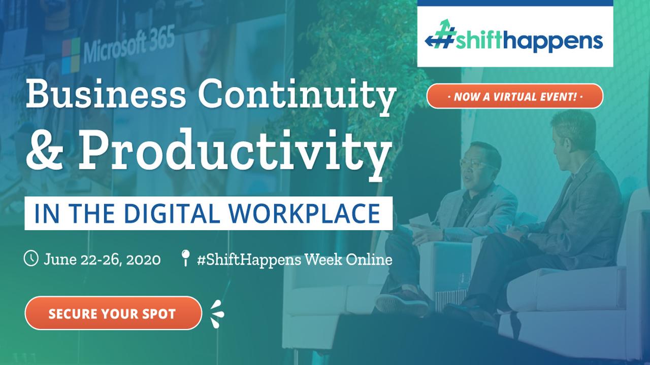 #ShiftHappens 2020