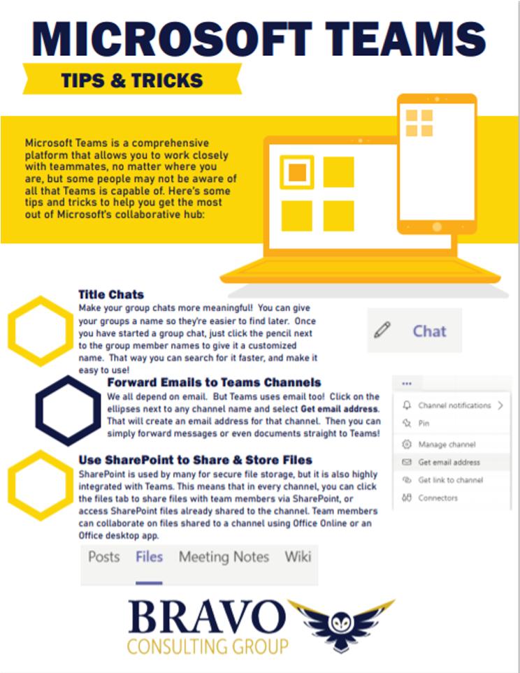Microsoft Teams Tips